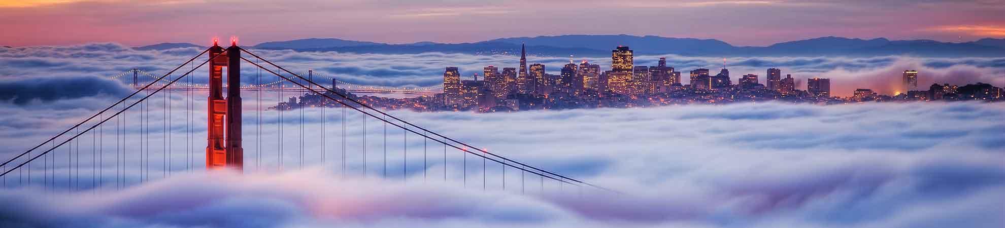 Vacances San Francisco - Ville du fameux Golden Gate