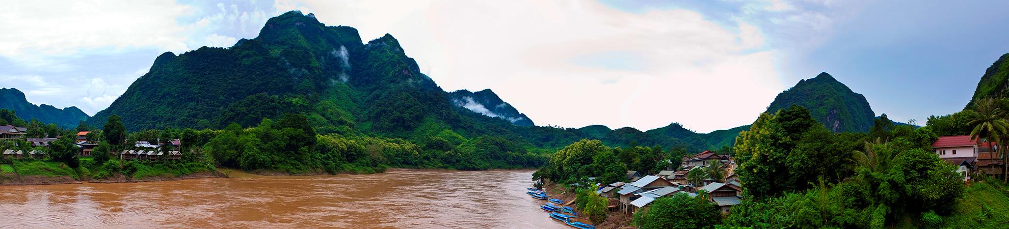 Croisière sur la rivière Nam Ou