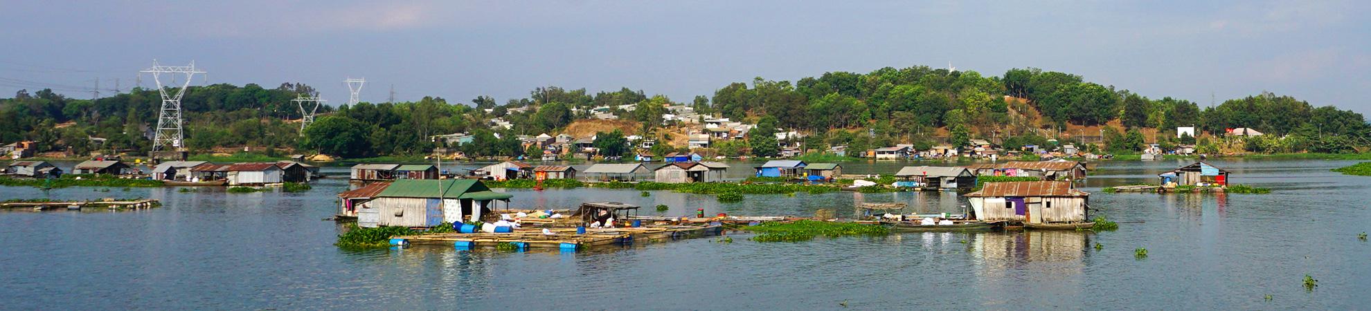 Kampong Khleang, un véritable village flottant