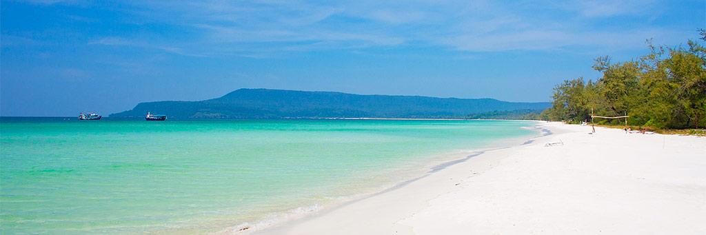 Bungalow sur la plage - Ile de Koh Kong