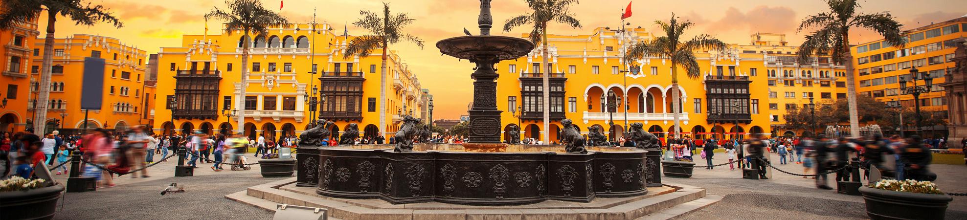 Villes du Pérou